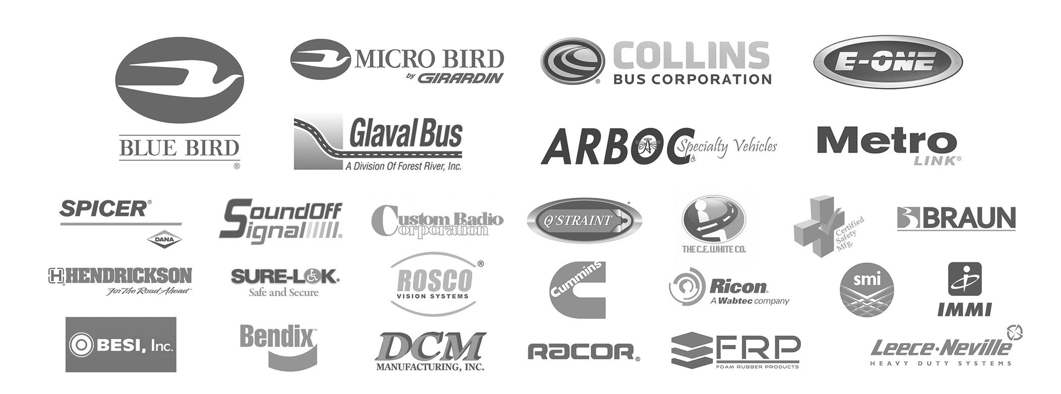 a-z-bus-sales-parts-department-parts-brand-logos