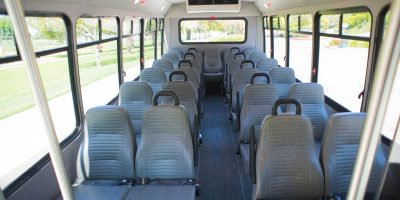 Optional Interior Configuration and Seating Fabrics