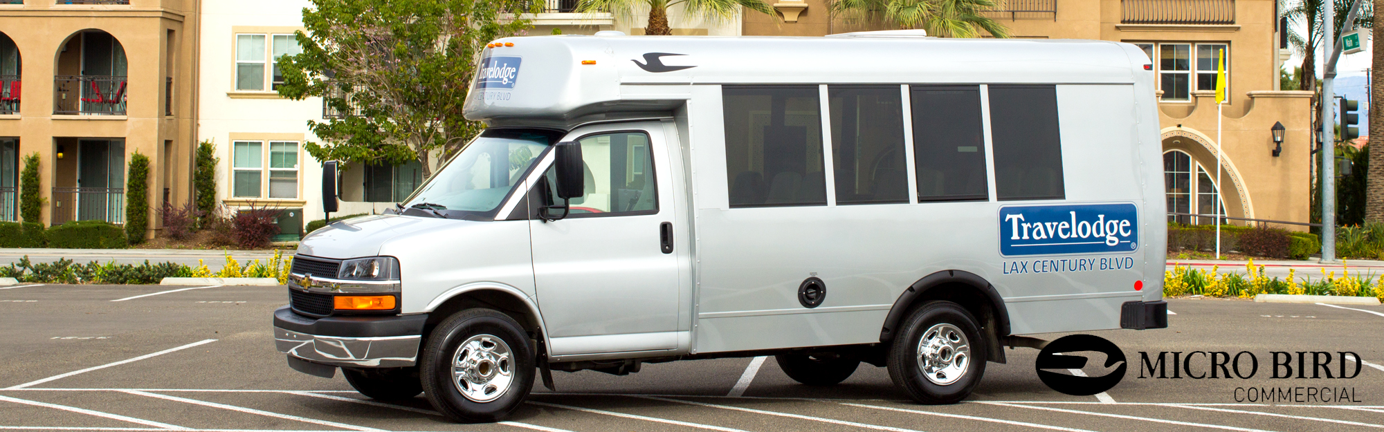 Micro Bird Shuttle Bus Header Image