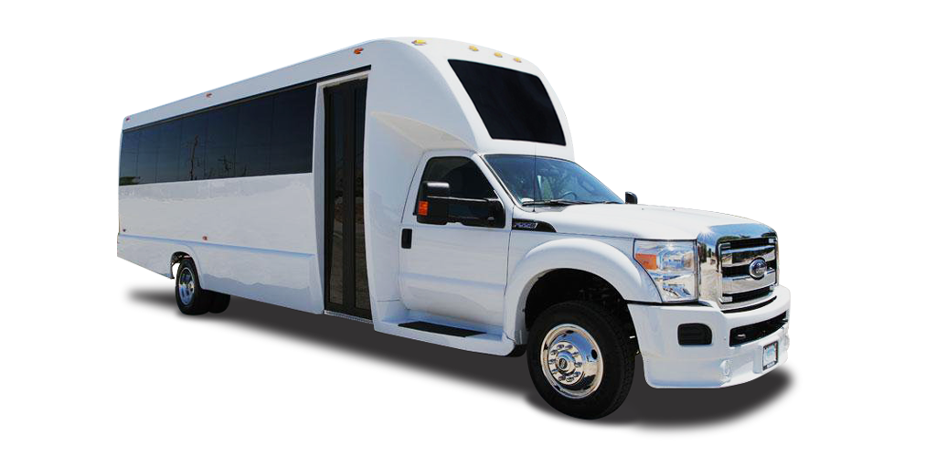 Tiffany Coachworks F-550 Shuttle Luxury Bus