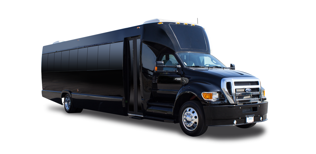 Tiffany Coachworks F-650 and F-750 Shuttle Tour Bus