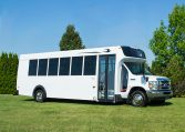 Micro Bird D-Series Shuttle Bus -Exterior PAssenger Side View - 16C24406