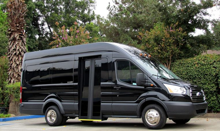 NorCal Van Executive Shuttle - Exterior Passenger Side View - 16C031