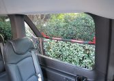 NorCal Van Executive Shuttle - Interior passenger cabin emergency window view - 16C031