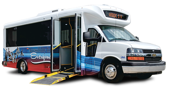ARBOC Spirit of Mobility - Low Floor Bus - Small Web