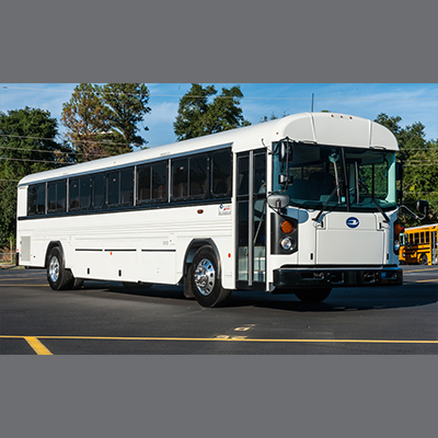 Blue Bird Commercial Bus Interior Overhead Luggage Racks