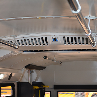 Blue Bird RE Interior Grab Rails