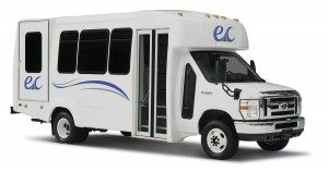 Wheelchair Lift Shuttle Bus