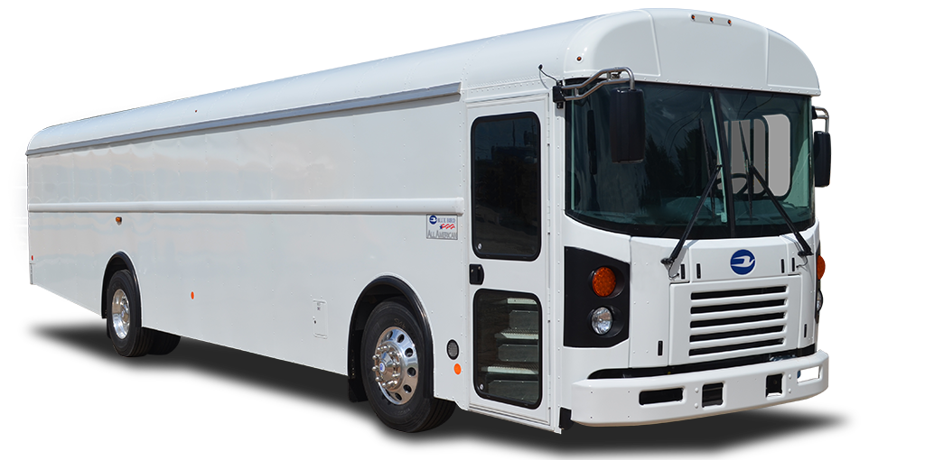 Blue Bird Commercial and Activity Buses by A-Z Bus Sales in