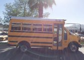 Corbeil Type A Used School Bus - Passenger Entrance View -16U012S