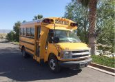 Corbeil Type A Used School Bus - Passenger Front View -16U012S