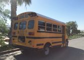 Corbeil Type A Used School Bus - Passenger Rear View -16U012S