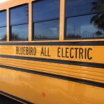 Blue Bird Electric School Bus side image