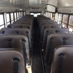 Type D Electric School Bus passenger seating