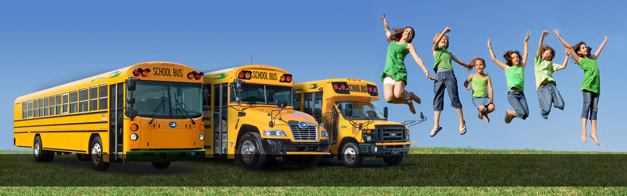A-Z Bus Electric School Bus Header Image