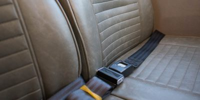 Safety Restraint Belts for each Seat