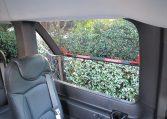 NorCal Van Executive Shuttle - Interior passenger cabin emergency window view - 16C031