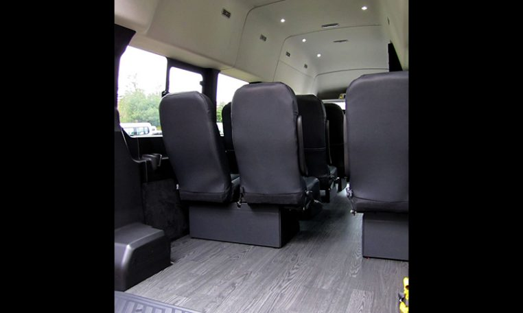 NorCal Van Executive Shuttle - Interior rear luggage compartment View - 16C031