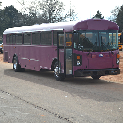 Blue Bird T3RE Custom Painted Commercial Bus