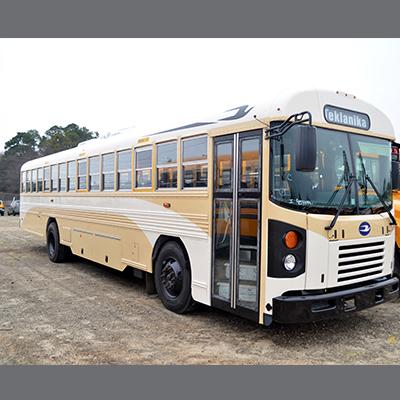 T3FE City Transit Bus with Destination Sign