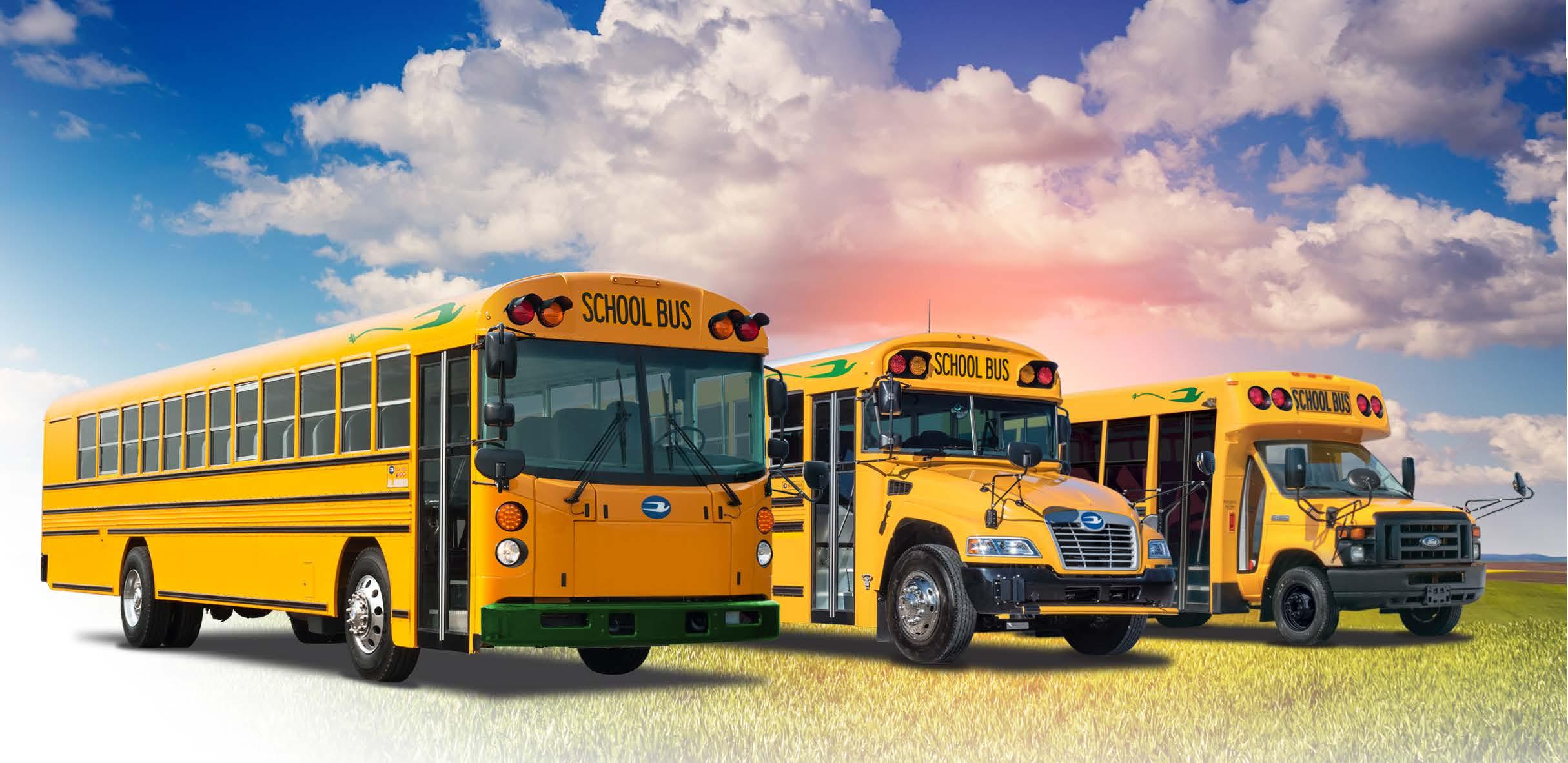 Blue Bird Electric School Buses