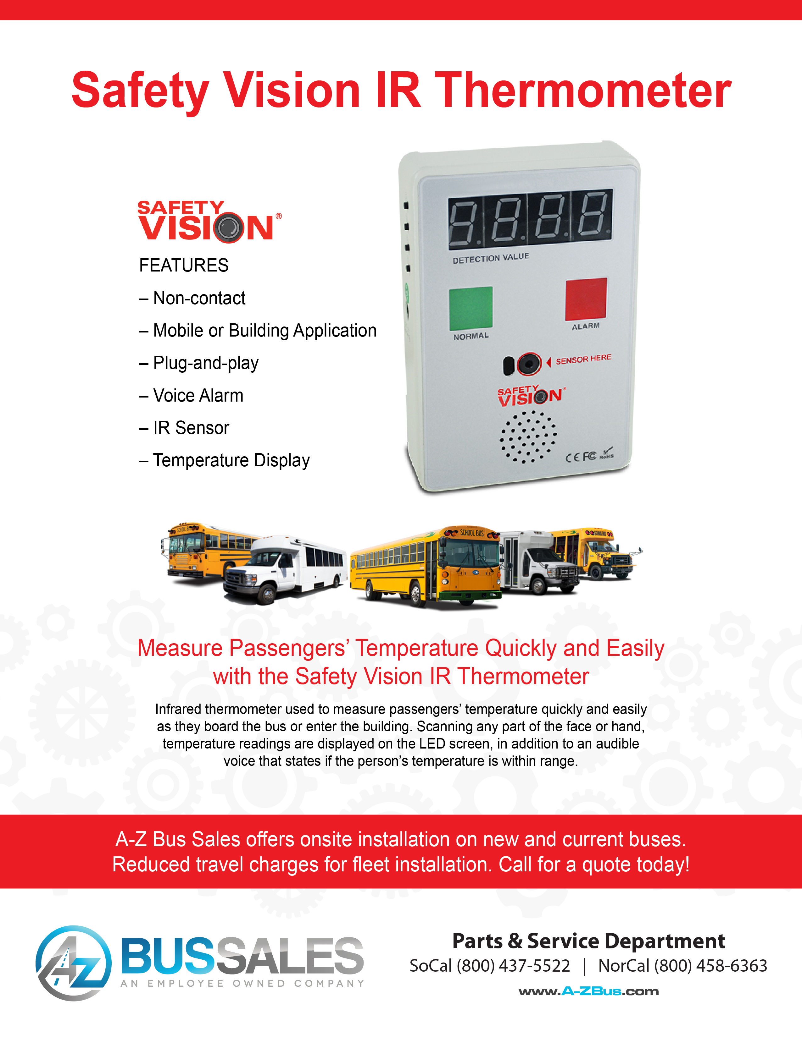 Safety Vision IR Thermometer_Flyer