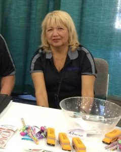 Patty at Trade Show